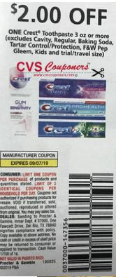 "$2/1 Crest Toothpaste Coupon from ""P&G"" insert week of 8/25 (EXP:9/7)"