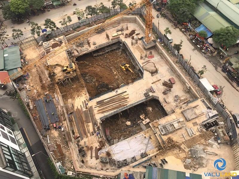 Tiến độ xây dựng chung cư An Bình Plaza