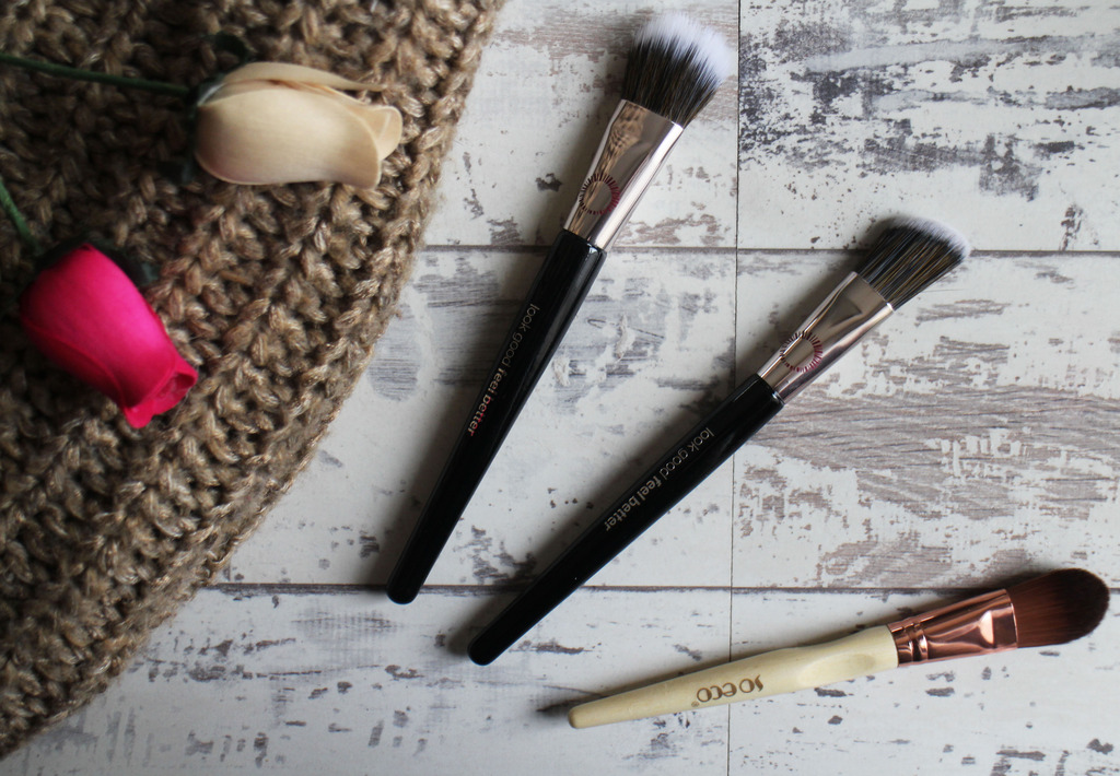 Testing Foundation Brushes with Look Good Feel Better and So Eco