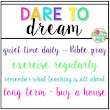 TpT Seller Challenge Week 2: Dare to Dream