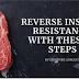 Reverta a resistência à insulina usando estes 8 simples passos