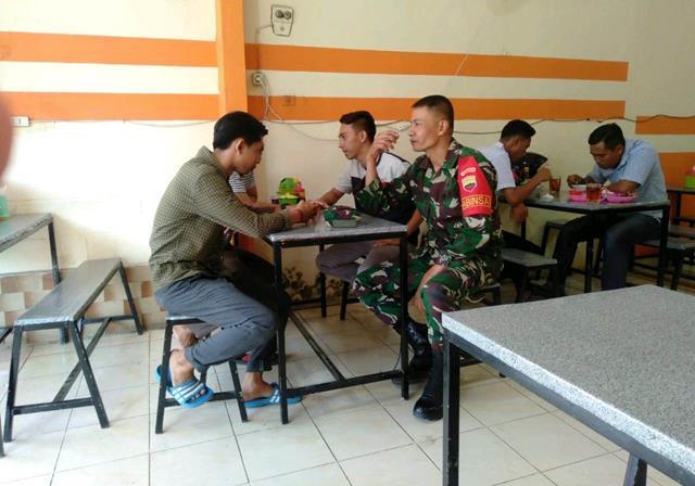Melalui Koramil 16/Pane Tonga Jajaran Kodim 0207/Simalungun Himbau Warga Binaan Patuhi Protokol Kesehatan
