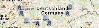 Autobahnhotels, Autobahnhotels Deutschland Karte