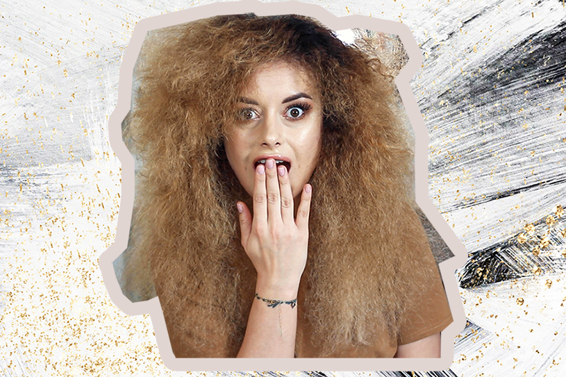 Rozczesywanie kręconych włosów