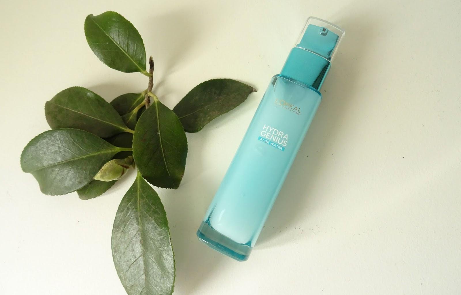 Hydra Genius Aloe Water soin liquide hydratant L'Oréal