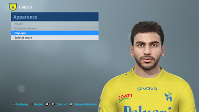 PES 2019 Faces Mehdi Leris by TiiToo Facemaker
