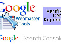 Cpanel | DNS Zone Editor | Verifikasi DNS Search Console | Google Webmasters