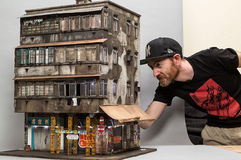 Ciudades urbanas en miniatura con detalles tan pequeños que necesitaras una lupa para verlos