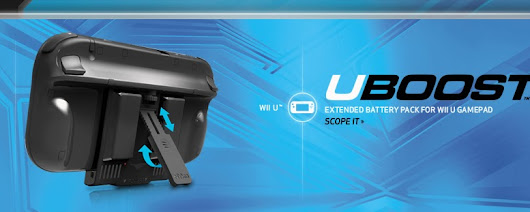 Hardware Review: Nyko UBoost accessory for Wii U | Nintendo Feed | Wii U, 3DS and eShop News, Reviews, Features and more...