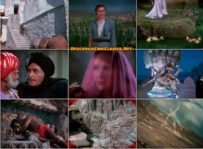 El ladrón de Bagdad (1940) The Thief of Bagdad - Capturas
