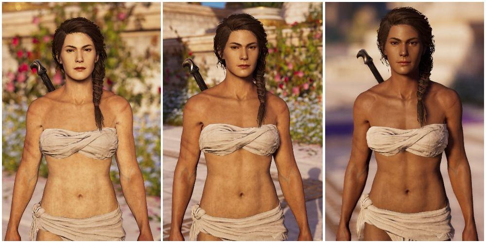 Different Skin Tones For Kassandra