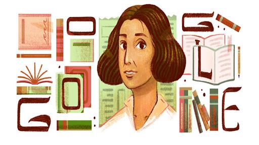 يحتفل جوجل اليوم بعنبرة سلام الخالدي