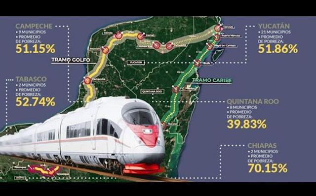 Tren Maya turístico México