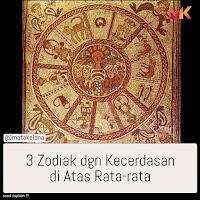 3 Zodiak dengan kecerdasan diatas rata rata