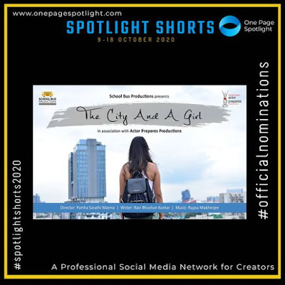 Sneha Paul  web series thje city and a girl