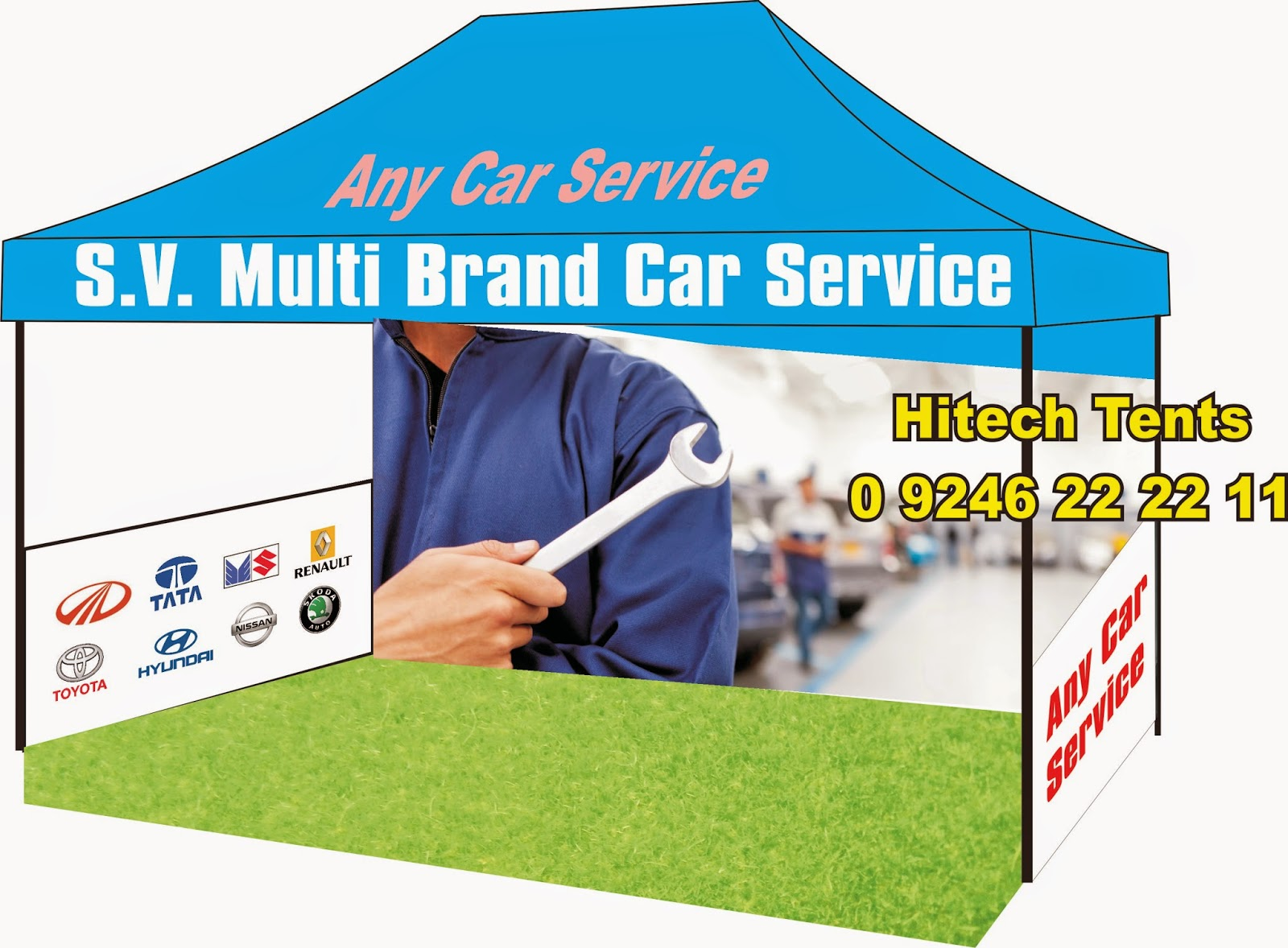 Multi Brand Car Service Publicity at Low price and Best