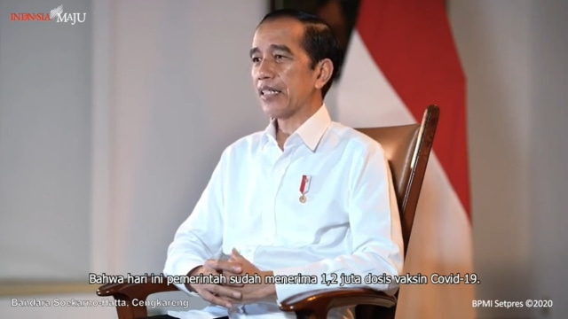 Jokowi: Vaksin COVID-19 Gratis, Sekali Lagi Gratis!
