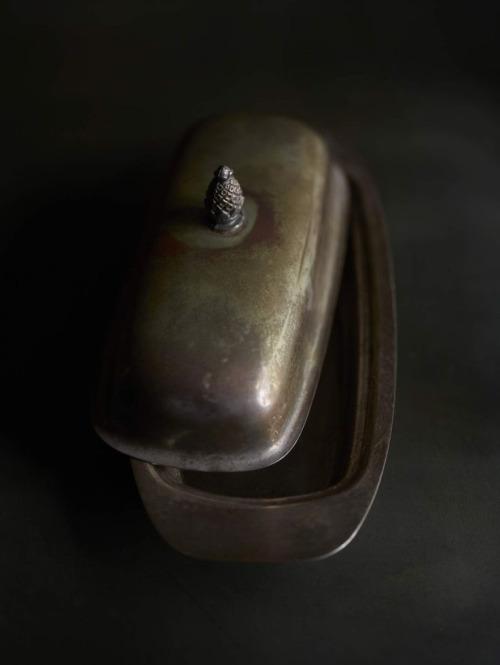 salsera de plata antigua chicanddeco