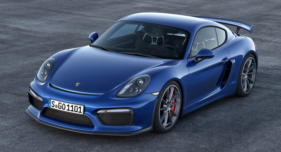 New Porsche Cayman GT4 Will Feature Naturally Aspirated Flat Six Engine