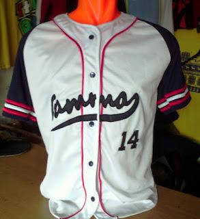 Tempat Bikin Baju Kaos baseball Murah Bandung