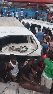 Dangote truck accident