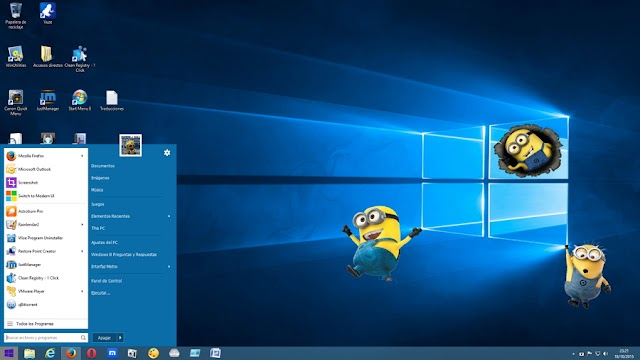 Tema Windows 10 RTM para Windows 8 y 8.1