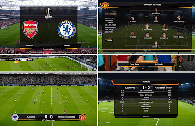 PES 2020 Scoreboard UEFA Europa League by Unknown32