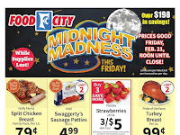Food City Weekly Sale February 26 - March 3, 2020