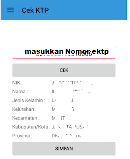 cara cek data e-ktp di hp android