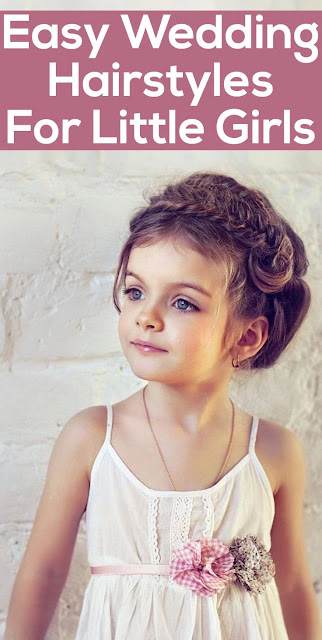Hairstyles for Little Girls - Wedding Hairstyle For Little Girls
