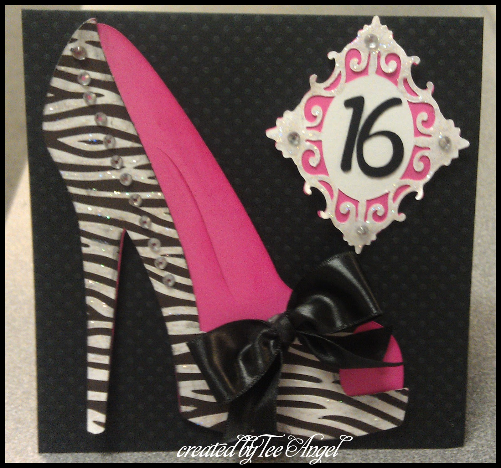 Cutters Creek Design Team Sweet 16 Birthday Card By Tee