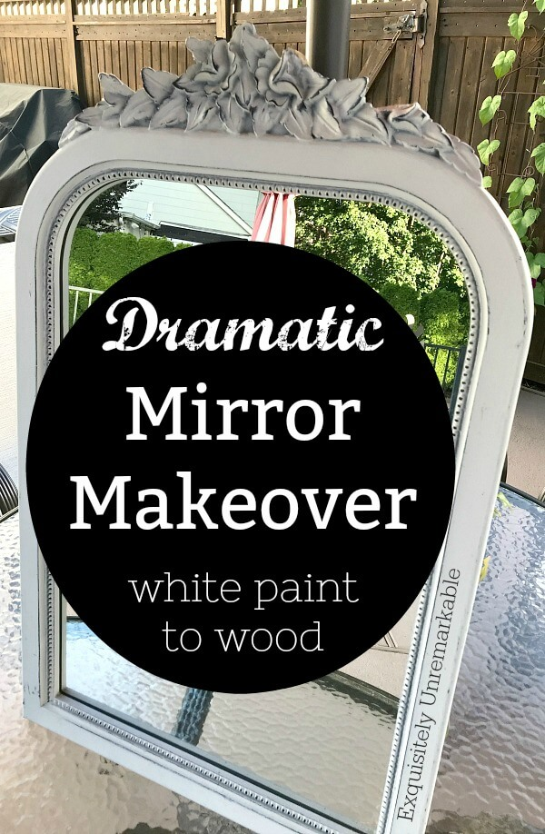 Dramatic Mirror Makeover
