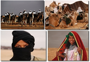 Bernard Grua, photos du festival de Douz, Sahara, Tunisie