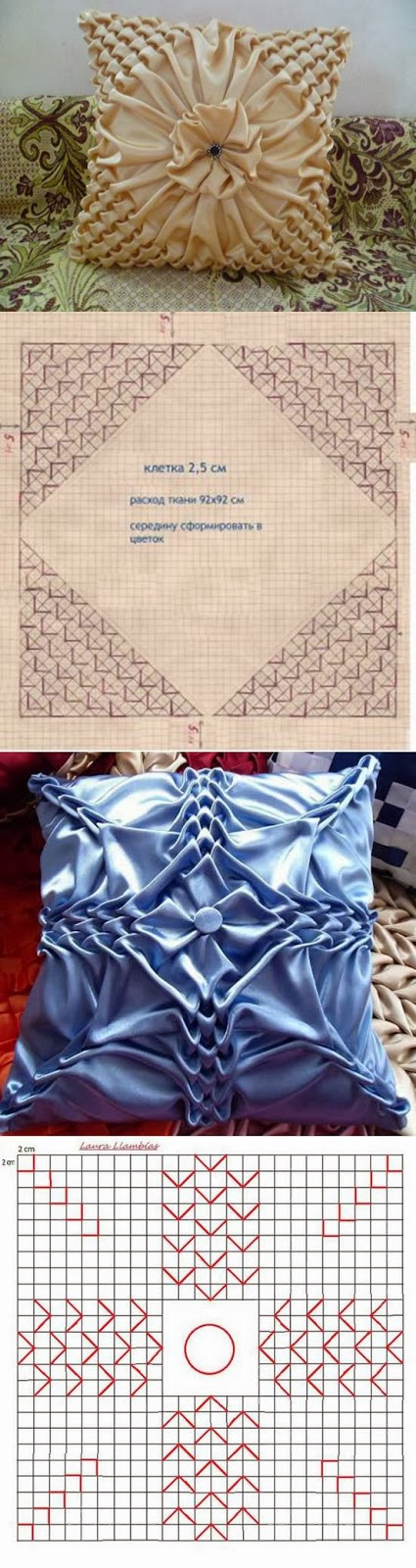 DIY Pillow Pattern Puffed Sleeves