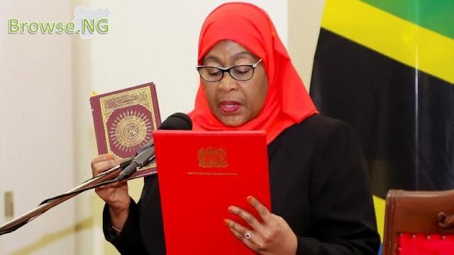 Samia Suluhu Hassan Biography