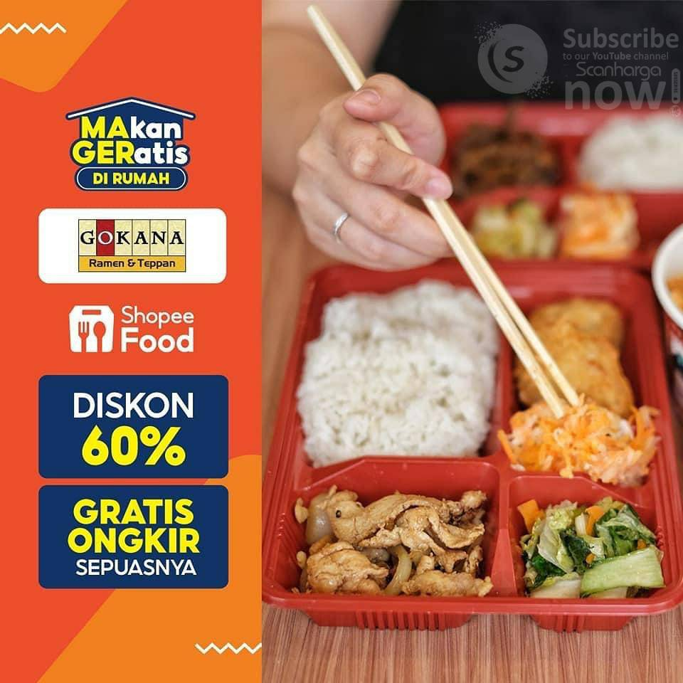 GOKANA Ramen Promo DISKON 60% via Shopee Food