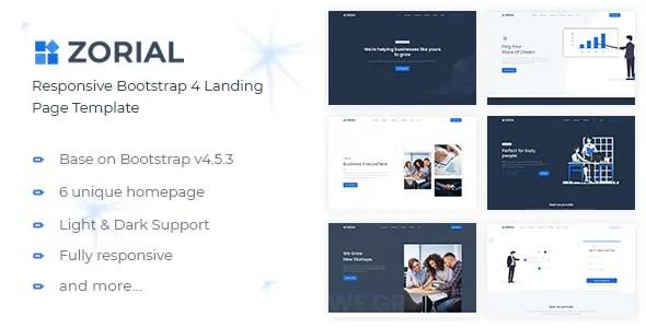 Best Multipurpose Landing Page Template