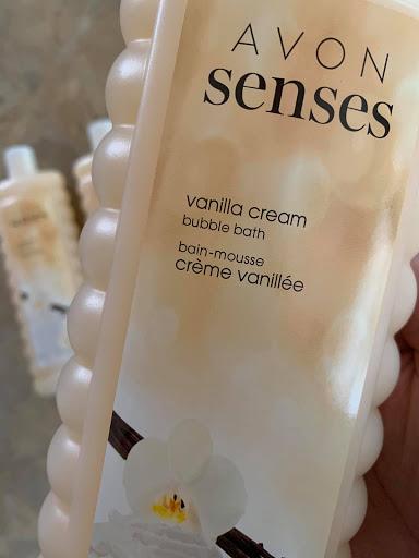 Avon Senses Vanilla Cream Bubble Bath