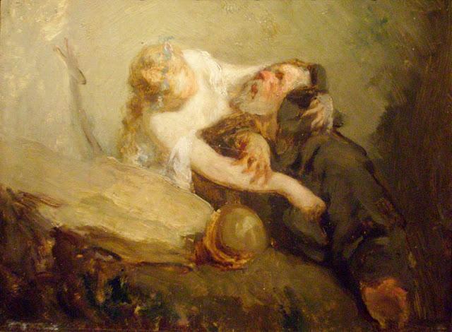 Жан Франсуа Милле - Искушение святого Антония