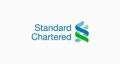 brand font standar chartered