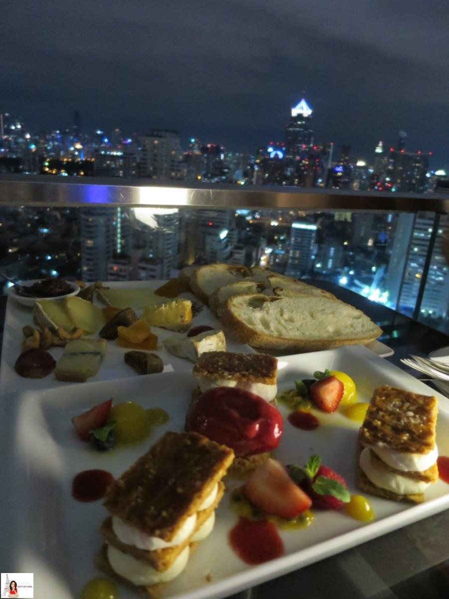 Coley S Just Saying L Appart Rooftop Bar For French Cuisine And A Lovely View Of Bangkok