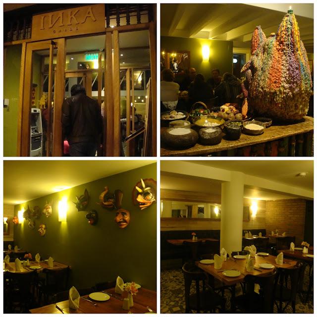 restaurante Inka Grill, Cusco, Peru