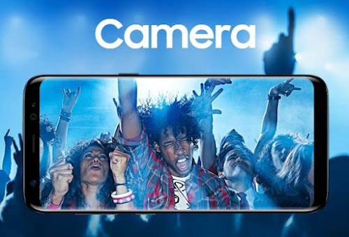 Kamera Belakang Samsung Galaxy S8 Plus