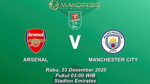 Prediksi Arsenal Vs Manchester City, Rabu 23 Desember 2020 Pukul 03.00 WIB @ Mola TV