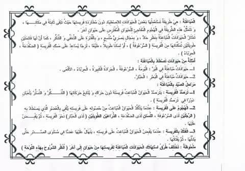 25 - ملخص دروس  و معلقات ترسيخية الايقاظ س5