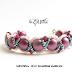 Easy Beadweaving Bracelet Tutorial for Beginners by biZSUterie