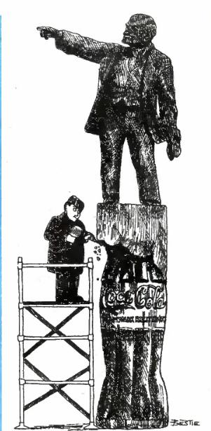 """Карикатуры """"Крокодила"""", 1991 год"""