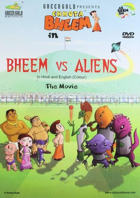 Chhota Bheem In Bheem Vs Aliens Movie Images In HD