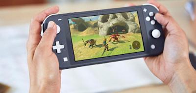 Nintendo Switch Lite Screen Size