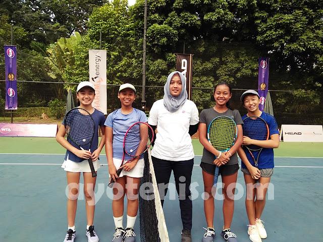 WTA FUTURE STARS - Indonesia Qualification: Inilah Juara Ganda KU 14 & 16